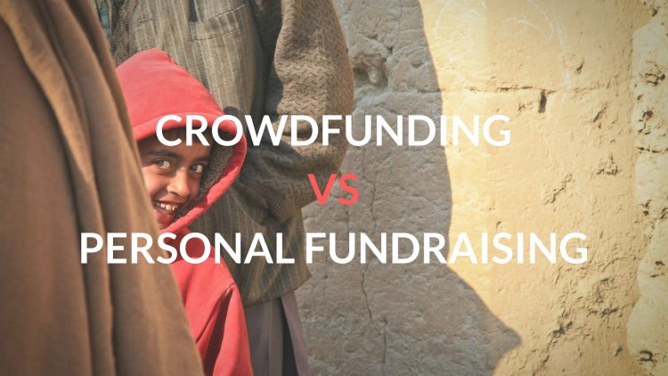 crowdfunding vs personal fundraising