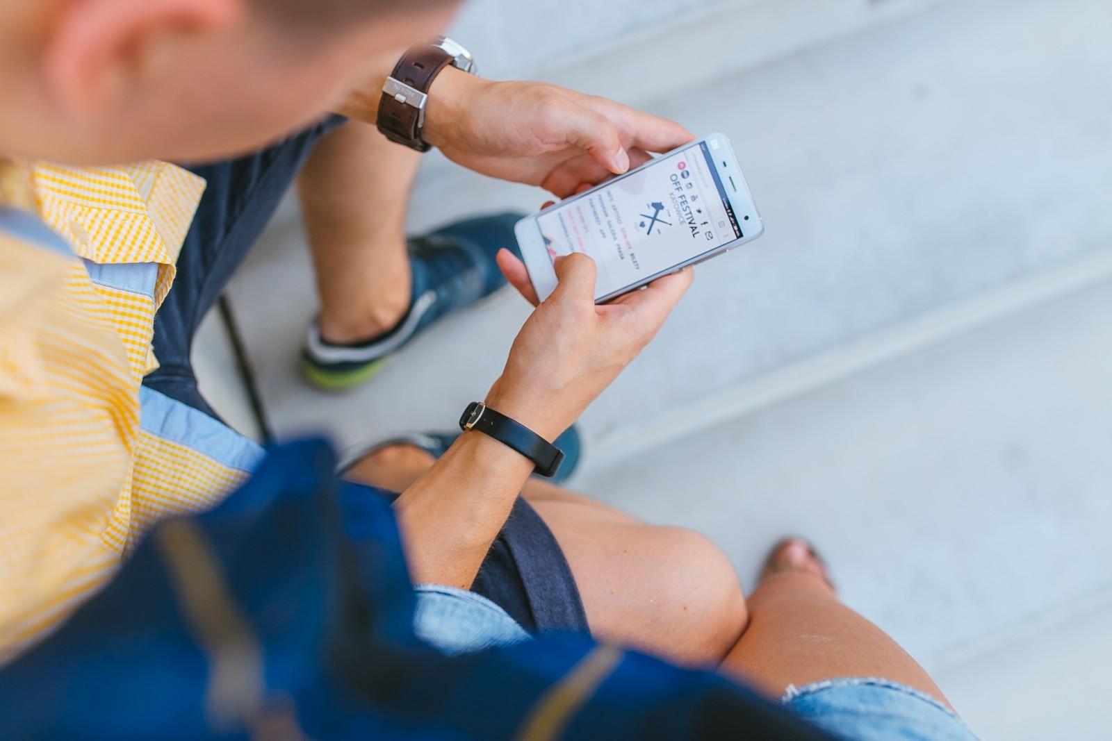sito non ottimizzato per mobile