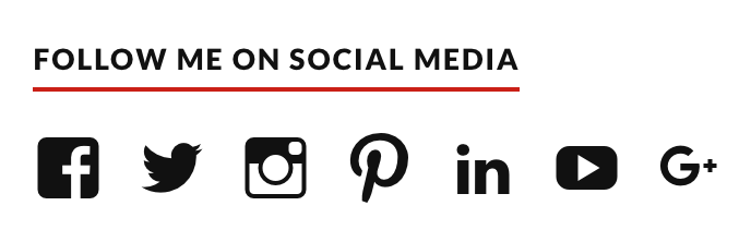 footer social network
