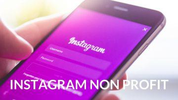 instagram non profit